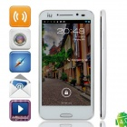 "ISA A19 Dual-Core Android 4.0 WCDMA Smart Phone w / 4,7 ""Kapazitive Bildschirm, Wi-Fi und GPS - Weiß"
