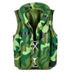 ET 28 Swimming Aid Inflatable Vest Life Jacket for Children - Green