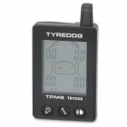 TYREDOG TD1300A-X 1.7' LCD Wireless External 4-Sensor TPMS Tire Pressure Monitoring System - Black