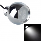 Resch Dayton 3W 6400K 315lm White Light 3-LED Pendant Lamp - Chrome (AC 110~220V)