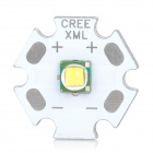 XM-L T3 220lm 3500K LED Warm White Light LED - Silver