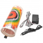 Car Sound Control Sensor Music Rhythm Orange + Red + Green Light Decorative LED Lamp (90 x 25cm)