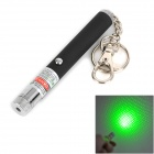 Buy 5mW 532nm Zooming + Gypsophila Green Laser Pointer - Black Silver (1 x AAA)