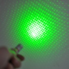5mW 532nm Zooming + Gypsophila Green Laser Pointer - Black + Silver (1 x AAA)