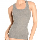 BS-C27-3360 Cool Summer Cotton Vest for Women - Grey