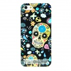 Stylish Protective Skull Pattern Plastic Back Case for Iphone 5 - Black