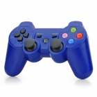 Bluetooth V3.0 Double Shock Game Controller for PS3, PS3slim, PS3 CECH4000 - Blue