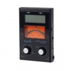 "Universal Cherub WST-910 2.9"" LCD Mechanical Meter Tuner - Black + Orange + Silver + Blue"