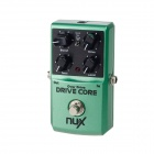 NUX Drive Core Overdrive Guitar Effect Pedal - Green + Black