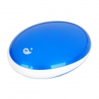 R-WHALE I9 Rechargeable 6800mAh Mobile Night Light Power Bank for iPhone 4 S - Blue