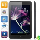 "H7000 MT6577 Dual-Core Android 4.1.2 WCDMA Smart Phone w / 7,0 ""IPS, Wi-Fi, GPS und Dual-SIM - Schwarz"