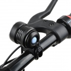 B31 1800~2500lm 3-Mode White Bicycle Light w/ 3 x Cree XM-L T6 - Black (4 x 18650)
