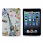 Eiffel Tower Pattern Protective TPU Back Cover Case for Ipad MINI - Multicolor
