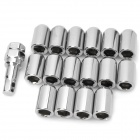 Car Wheel Anti-Theft Nut Screw - Silver (16PCS)