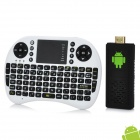 UG802 + I8 Air Mouse Dual-Core Android 4.1 Mini PC Google TV Player w/ 1GB RAM / 4GB ROM - Black