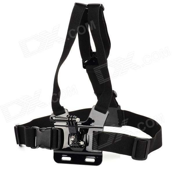 Adjustable Chest Mount Harness Camcorder Shoulder Strap for Gopro Hero 4/ 3+ / 3 / 2 / SUPTig Sports DV