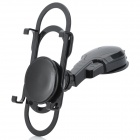 Multi-Function Car Mount Holder w/ Suction Cup for Iphone / Ipad / Samsung Galaxy Tab - Black