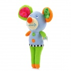 BabyCans Cute Mouse Style Baby Hand Bell - Blue + Green