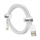 USB Male to Apple Lightning Male Charging & Data Cable for iPhone 5 / iPad Mini (200cm-Length)