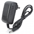 0666B 2.5 x 0.7mm AC Power Adapter Charger for Laptop - Black (2-Flat-Pin Plug)