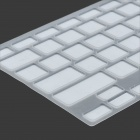 "ENKAY Protective Silicone Keyboard Cover Skin Guard for MacBook Pro Retina 13.3"" / 15.4"" - White"