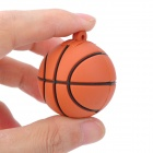 LQ-006 do basquetebol do estilo USB 2.0 Flash Drive - Brown + Black (16GB)