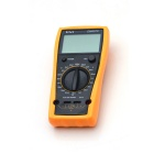 "VICHY DM4070 3"" LCD 1/2 Digital Handheld LCR Multimeter - Deep Grey + Orange"