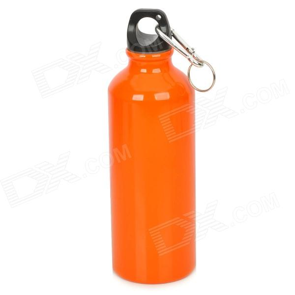 GJ4431 Portable Outdoor Aluminum Water Bottle - Orange (400mL) eyki h5018 high quality leak proof bottle w filter strap gray 400ml