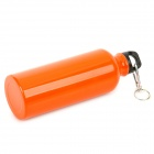 GJ4431 Portable Outdoor Aluminum Water Bottle - Orange (400mL)