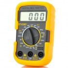 "DT 830D+ Portable 2"" LCD Digital Multimeter - Orange + Black (1 x 6F22)"