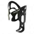TURNER MA-006 Frosted Surface Aluminum Alloy Bicycle Water Bottle Holder - Black