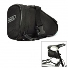 ROSWHEEL Cycling Bicycle Bike Saddle Seat Polyester Tail Bag - Black