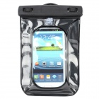 Protective PVC + ABS Waterproof Diving Bag for Iphone / Nokia / Sony / Samsung / HTC / LG - Black