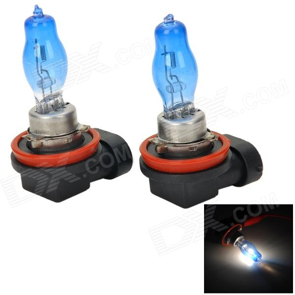 BFC-H221 H9 100W 2500lm 6000K White Car Light Bulbs - Blue (Pair/DC 12V)