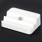 USB Charging & Data Power Dock for Samsung S4 i9500 - White