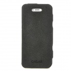 GALAS Stylish Protective Genuine Leather Case for Iphone 5 - Black