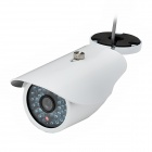 600TVL HD CCTV Surveillance Camera w/ 36-IR LED - White (PAL)
