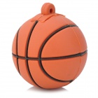 LQ-006 Basketball Style USB 2.0 Flash Drive - Brown + Black (4GB)