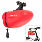 ZIXTRO ZI-044 Cycling Bicycle Bike Saddle Seat TPU Tail Bag - Red