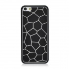 Water Cube Pattern Protective ABS Back Case for Iphone 5 - Black