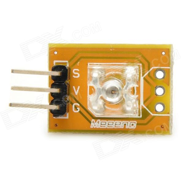 Meeeno MN-EB-LEDPY Piranha LED Yellow Light Indicator Module for Arduino