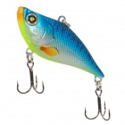 WALTON WV002SK-60-008 Lifelike Fish Style Sinking Fishing Bait w/ Treble Hooks - Blue