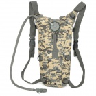 CORDURA Outdoor Tactical Multifunction Oxford Cloth Water Bag Storage Backpack - Camouflage + Grey