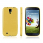 ENKAY Protective Soft TPU Back Case Cover for Samsung Galaxy S4 / I9500 - Yellow