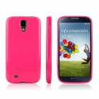 ENKAY Protective Soft TPU Back Case Cover for Samsung Galaxy S4 / I9500 - Deep Pink