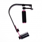 Professional Steady RIG Video Stabilizer for DSLR Camera Camcorder - Deep Pink + Black