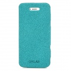 GALAS Protective Genuine Leather Case for Iphone 5 - Dark Green