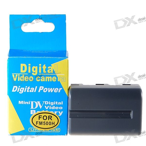 NP-FM500H Compatible 7.4V 1500mAh Li-Ion Battery Pack for A700/A350/A300/A200 DSLR