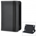 "Ultra-Thin Protective PU Leather Flip-Open Case for 7"" Tablet PC - Black"