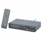 DVB T2 8002 Digital TV Receiver w/ HDMI / RCA / PVR / YPbPr - Black (EU Plug)